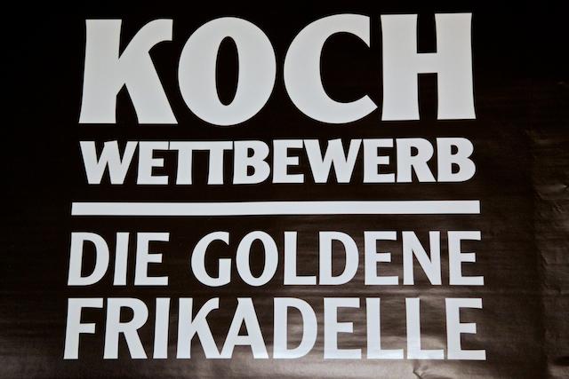 goldene Frikadelle
