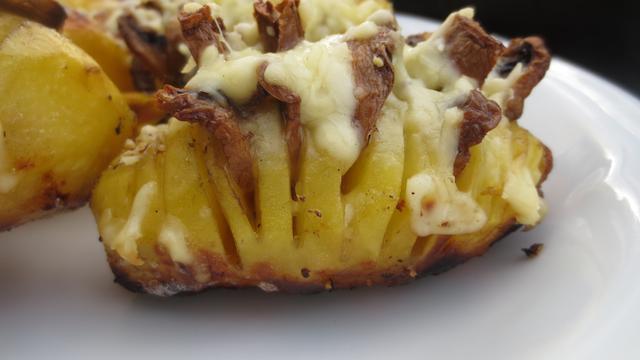 Hasselback-Potatoes